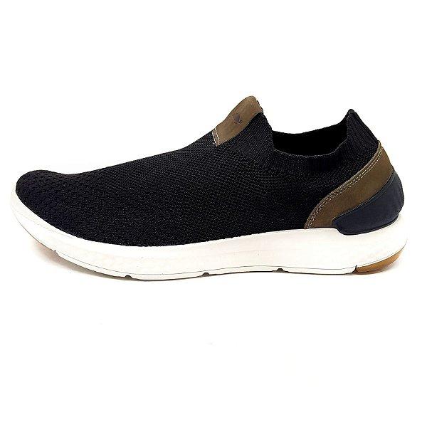 Sneaker Barcelona Malha Preta