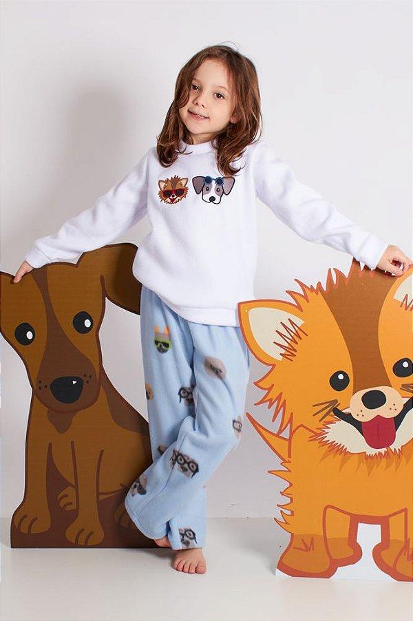 Pijama Cachorro Óculos