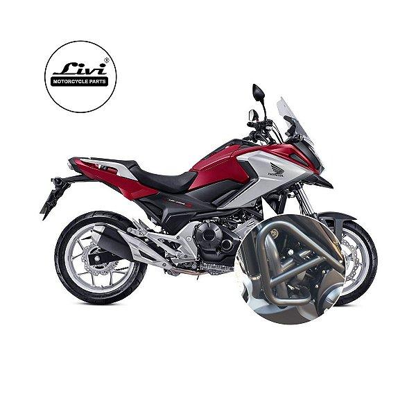 Protetor Motor Honda NC 700X / NC 750 X sem pedaleiras até 2020.