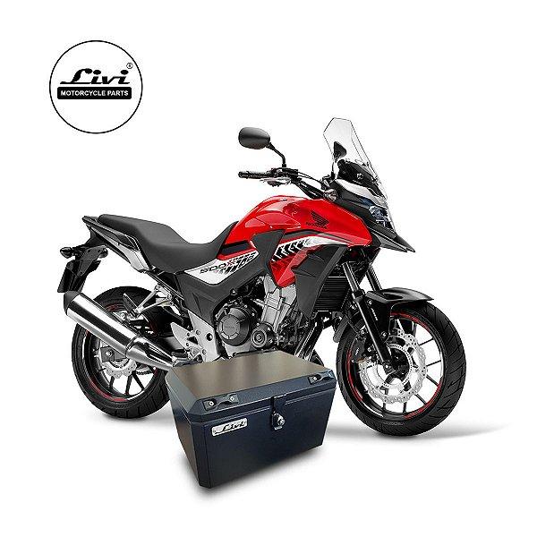 Baú central para Honda CB 500x até 2019 50 litros