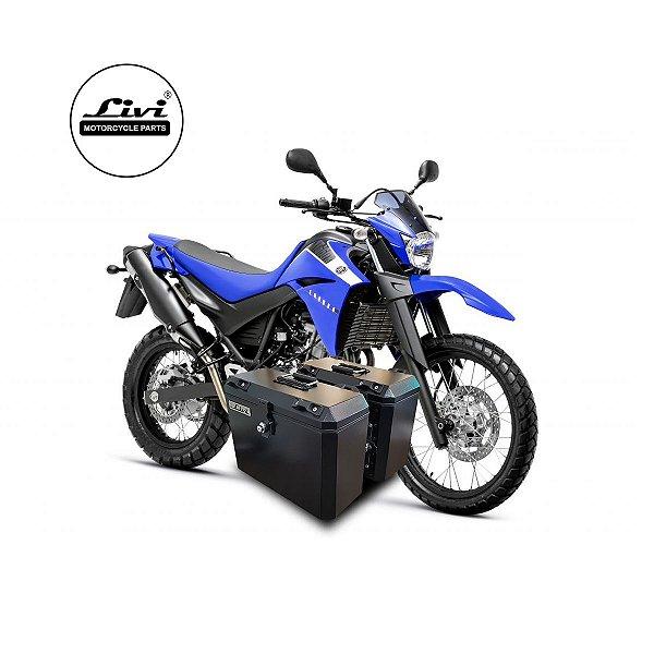Baús Laterais Yamaha 35 Litros XT 660 R + Suporte.