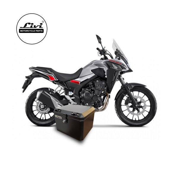 Baú Central Top Case CB 500X 2020 43 litros com base inclusa