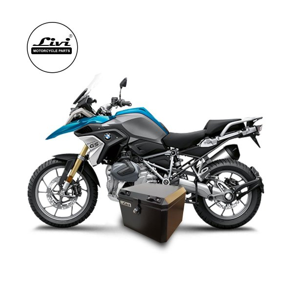 Baús central 43 Livi Exclusivos Para Moto BMW R 1200 GS 2013 em diante.