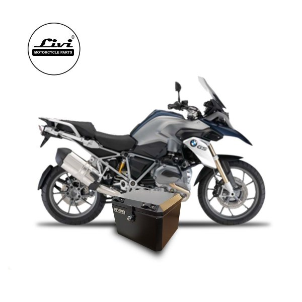 Baús central 43 Livi Exclusivos Para Moto BMW R 1200 GS 2008 A 2012