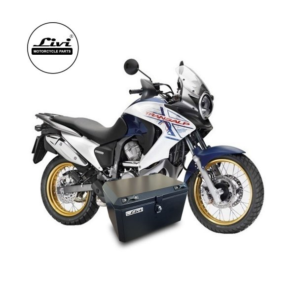 Top Case Honda Transalp XL 700V - 50 litros