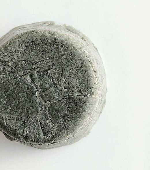Sabonete facil natural carvão ativado