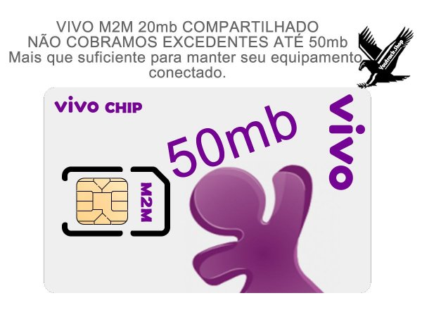 CHIP VIVO M2M 50mb
