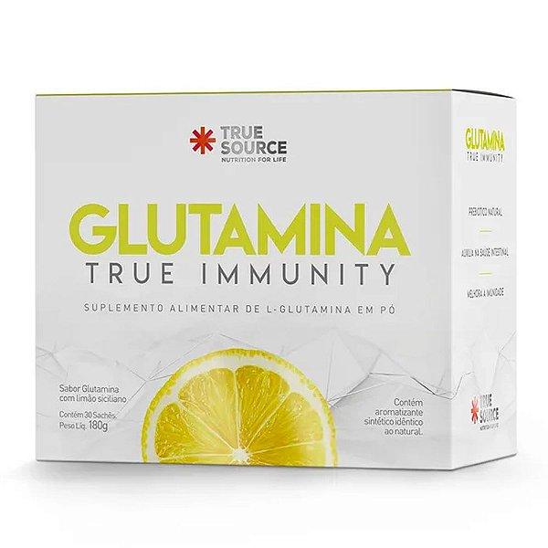 TRUE SOURCE GLUTAMINA TRUE IMMUNITY 30 SACHÊS 180G