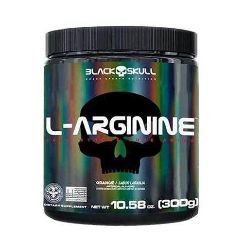 L ARGININE  300G BLACK SKULL