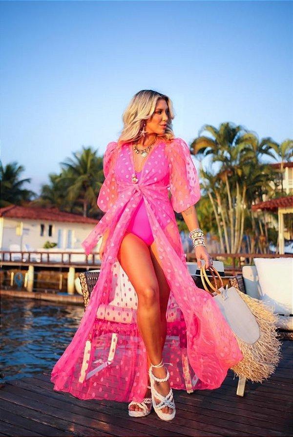 Saida Tule Poa - Pink