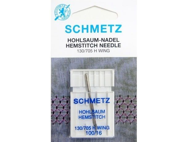 Agulha Schmetz Ponto Ajour 100/16 para Máquinas de Bordado e Costura