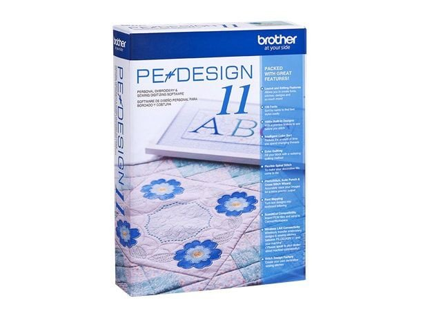 Software de criação Brother Pedesign 11