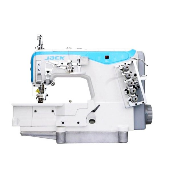 Máquina de Costura Galoneira Industrial Jack JK-W4-D-01GB- 364 3 Agulhas Direct Drive
