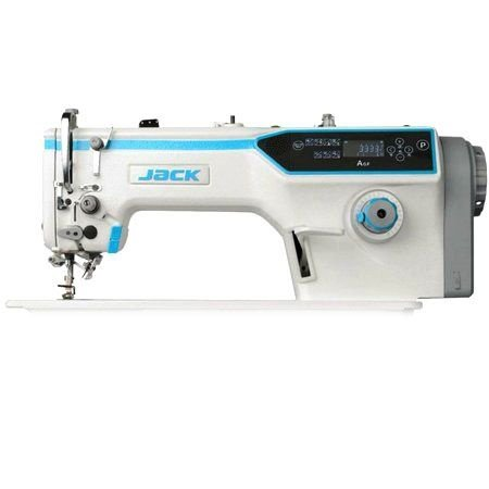 Máquina de Costura Industrial Reta Transporte Duplo Jack A6-F Direct Drive