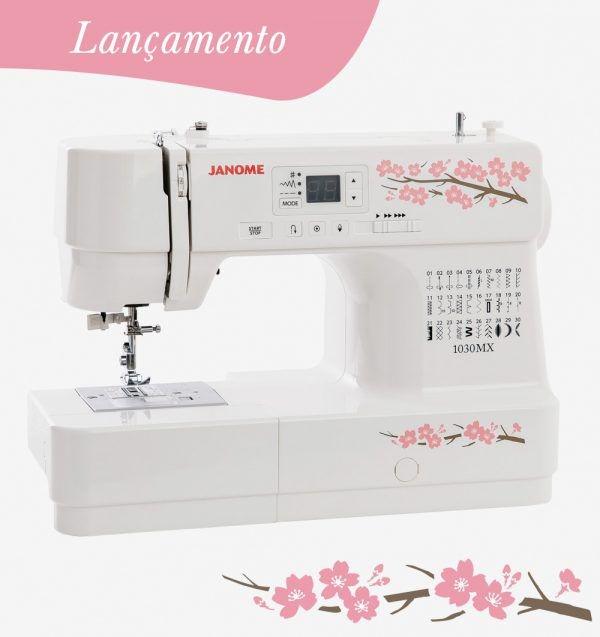 Máquina de Costura Janome 1030MX para Quilt e Patchwork
