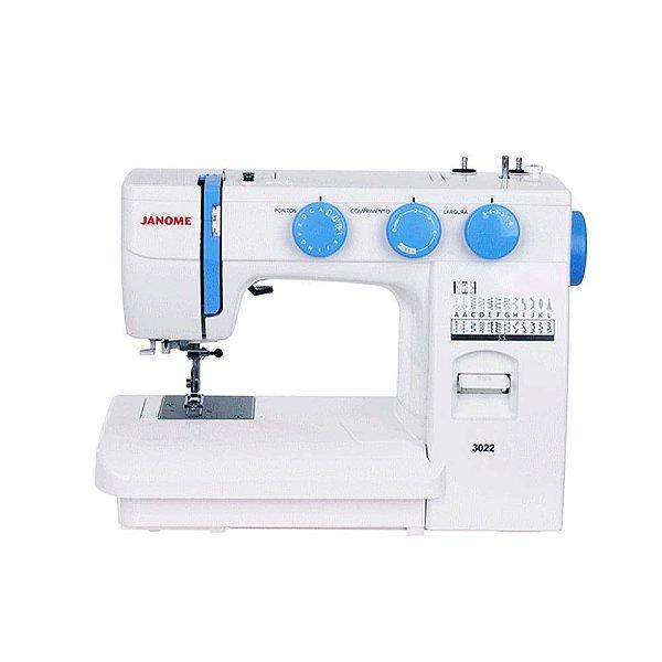 Máquina de Costura Janome 3022 para Acabamentos em Geral