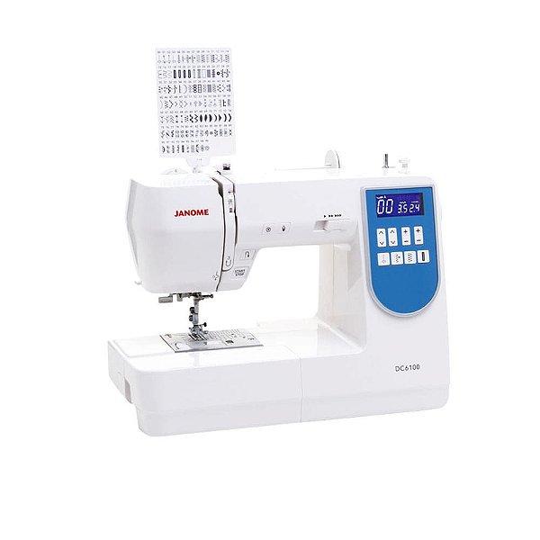 Máquina de Costura Janome DC6100 Ideal para Quilt e Patchwork