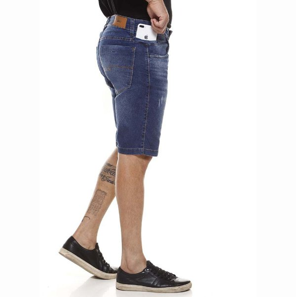 bermuda jeans prs bigodes laser