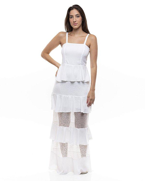 Vestido Anna Branco