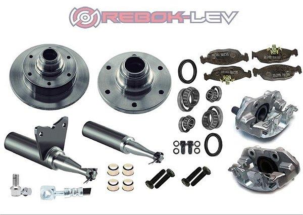 Cubo /eixo Brake Completo + Kit Simples Modelo D20 Ou F1000 6 x 139,70