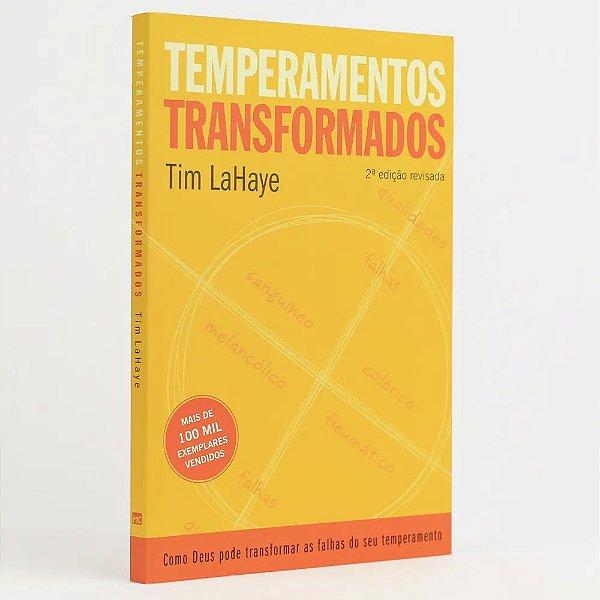 LIVRO TEMPERAMENTOS TRANSFORMADOS