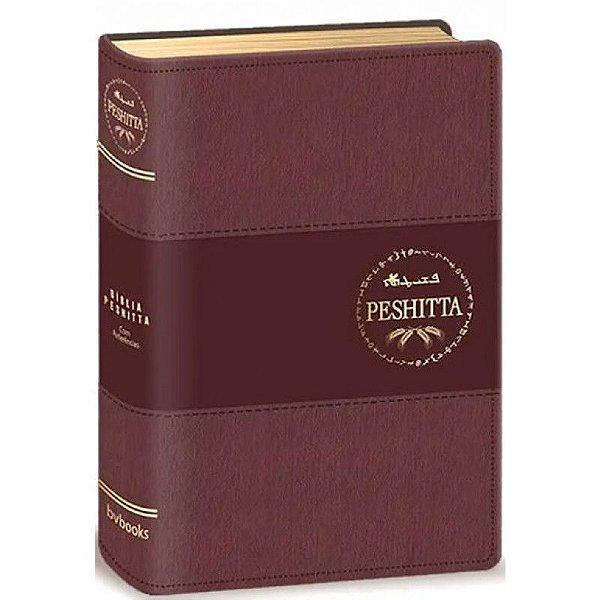 BIBLIA PESHITTA COM REFERENCIAS VINHO