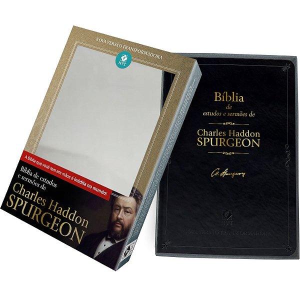 Bíblia de Estudos e Sermoes de Charles Haddon Spurgeon