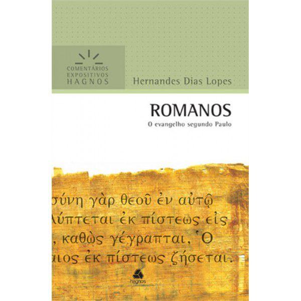 LIVRO ROMANOS COMENTARIOS EXPOSITIVOS