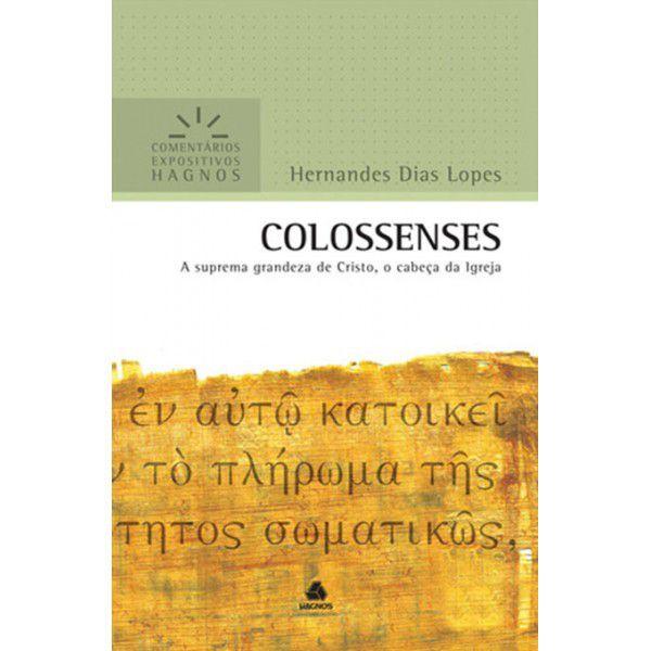LIVRO COLOSSENSES COMENTARIOS EXPOSITIVOS