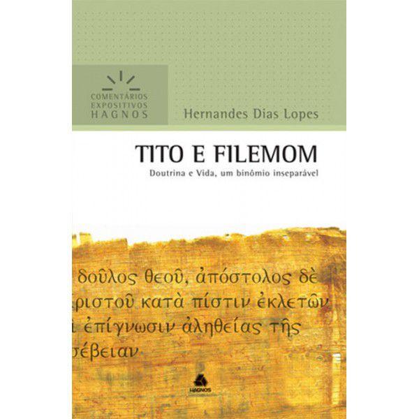 LIVRO TITO E FILEMOM COMENTARIOS EXPOSITIVOS