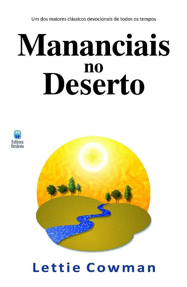 LIVRO MANANCIAIS NO DESERTO