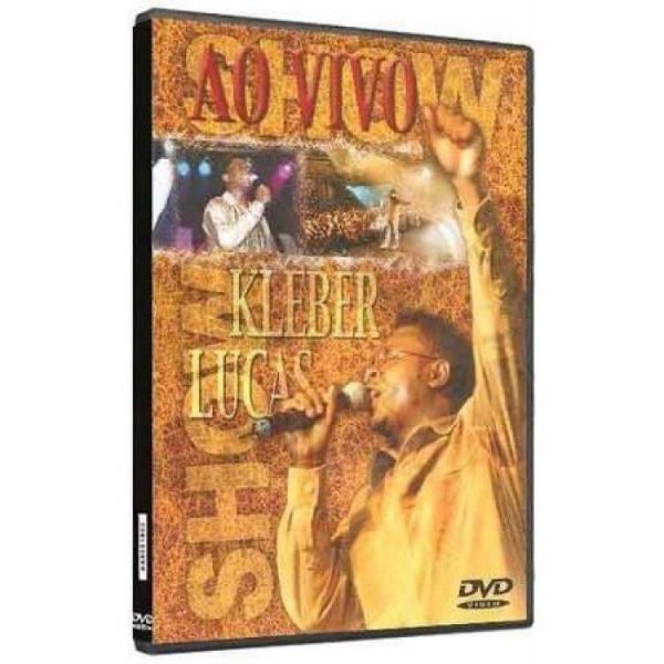 DVD KLEBER LUCAS AO VIVO