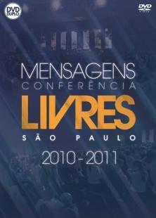 DVD LIVRES PARA ADORAR MENSAGENS CONFERENCIAS SAO PAULO