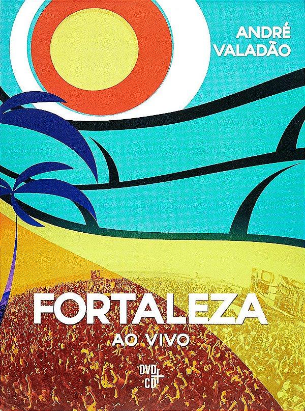 KIT DVD E CD ANDRE VALADAO FORTALEZA AO VIVO