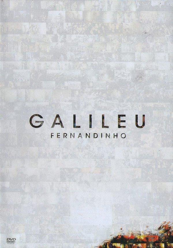 DVD FERNANDINHO GALILEU  AO VIVO