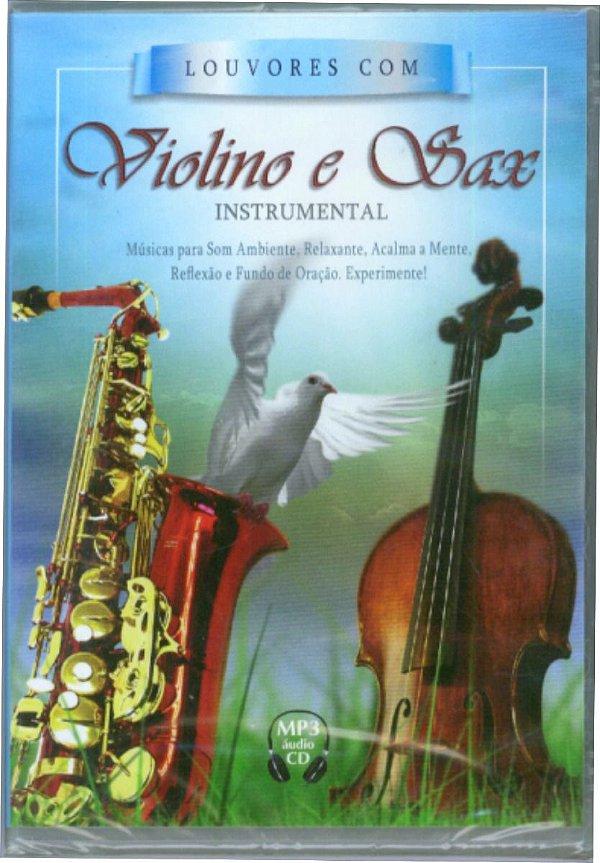 CD MP3 INSTRUMENTAL VIOLINO E SAX VOL 1