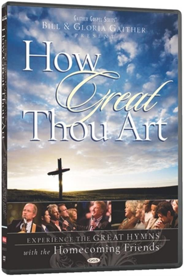 DVD GAITHER GOSPEL HOW GREAT THOU ART