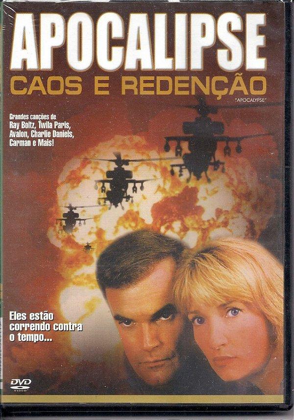 DVD COLECAO BIBLIA SAGRADA  APOCALIPSE CAOS E REDENCAO