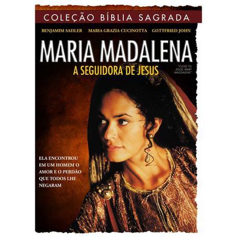 DVD COLECAO BIBLIA SAGRADA MARIA MADALENA A SEGUIDORA DE JESUS