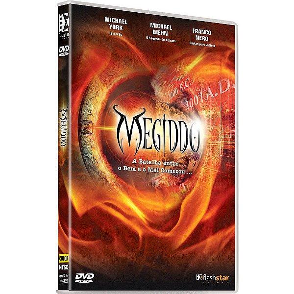 DVD MEGIDDO A BATALHA ENTRE O BEM E O MAL COMECOU