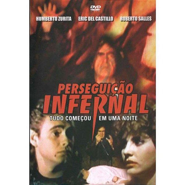 DVD PERSEGUICAO INFERNAL