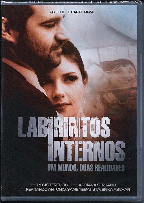 DVD LABIRINTOS INTERNOS UM MUNDO DUAS REALIDADES