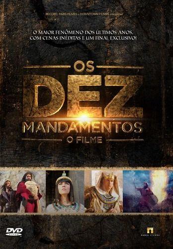 DVD OS DEZ MANDAMENTOS O FILME
