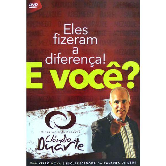 DVD ELES FIZERAM A DIFERENCA E VOCE