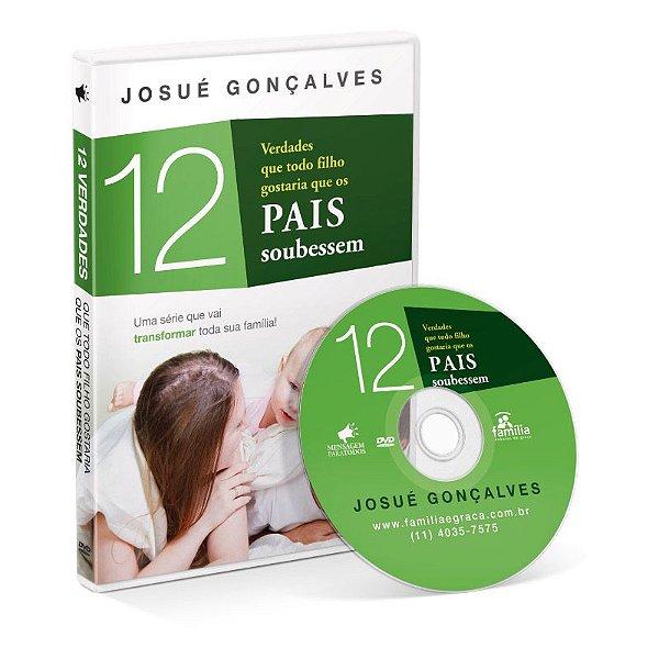 DVD 12 VERDADES QUE TODO FILHO GOSTARIA QUE OS PAIS SOUBESSEM