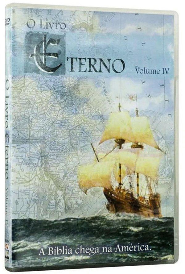 DVD DOCUMENTARIO O LIVRO ETERNO VOLUME 4