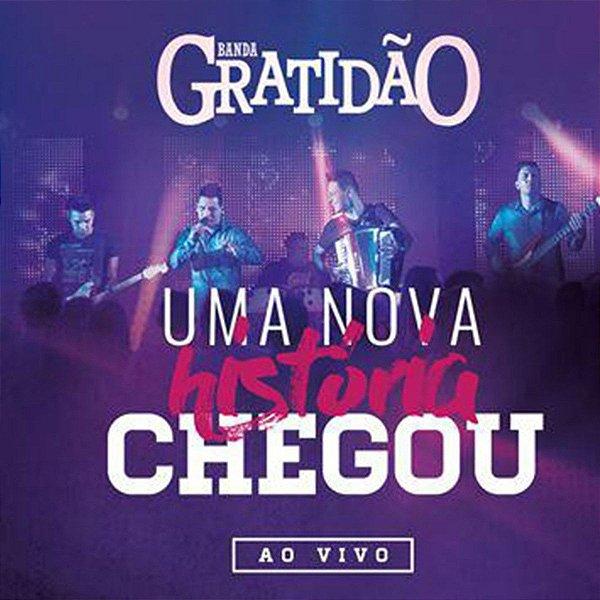 CD BANDA GRATIDAO UMA NOVA HISTORIA CHEGOU