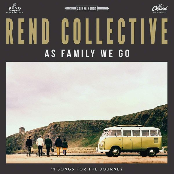 CD REND COLLECTIVE AS FAMILY WE GO