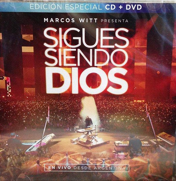 CD E DVD MARCOS WITT SIGUES SIENDO DIOS AO VIVO NA ARGENTINA