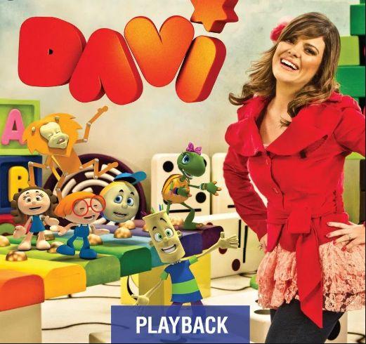 CD DAVI CRIANÇAS DIANTE DO TRONO PLAYBACK